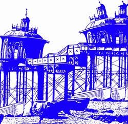 BOLE, ANDY: Ramshackle Pier