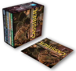 CASSIBER: The CASSIBER box. 6 CDs, 1 DVD and Book.