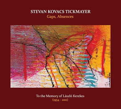STEVAN TICKMAYER: Gaps, Absences.