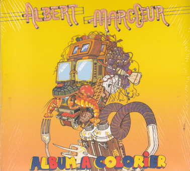 MARCOEUR:ALBERT  Album a Colorier