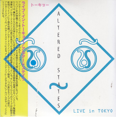 ALTERED STATES: Live in Tokyo (dbl CD)