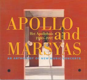 APOLLO and MARSAYAS: An Anthology of New Music Concerts