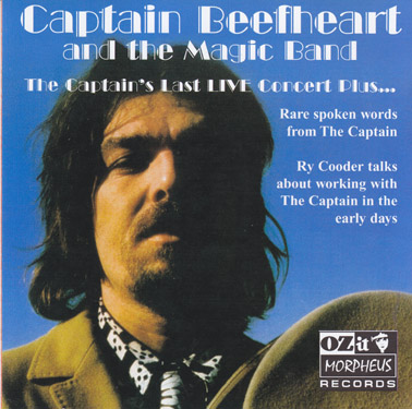 CAPTAIN BEEFHEART AND THE MAGIC BAND: The captain's last live concert plus. (dbl CD)