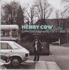 HENRY COW:  Bonus CD and Booklet