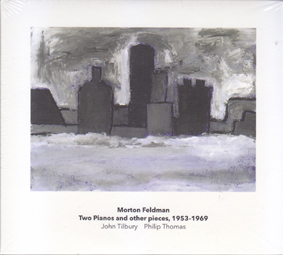 FELDMAN, MORTON:Two Pianos and other pieces, 1953-1969 (double CD).