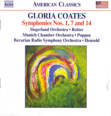 GLORIA COATES: Symphonies 14, 1 and 7