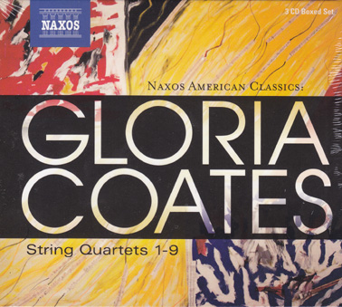 GLORIA COATES: String Quartets 1-9: 3 CDs in a Box