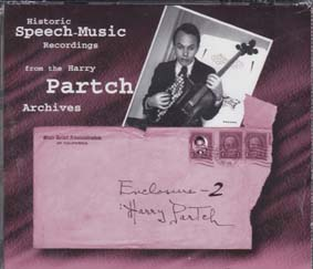 PARTCH, HARRY: Enclosure 2 (4cds)