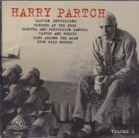 PARTCH, HARRY: Collection Vol 1
