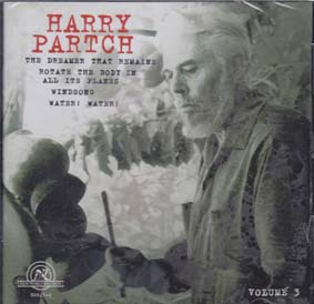 PARTCH, HARRY: Collection Vol 3