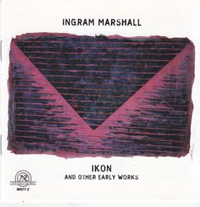 MARSHALL, INGRAM: Ikon and other early works