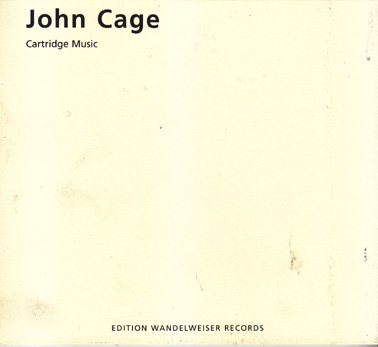 CAGE, JOHN: Cartridge Music