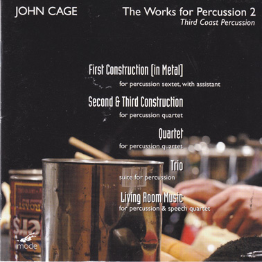 JOHN CAGE: The Works for Percussion 2