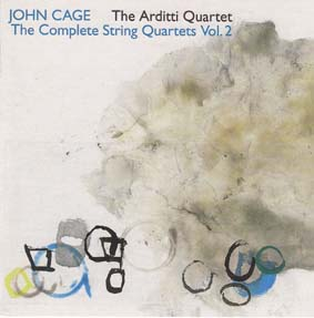 CAGE, JOHN - The Arditti Quartet: Complete String Quartets Vol. 2