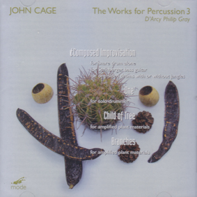 JOHN CAGE: The Works for Percussion 3