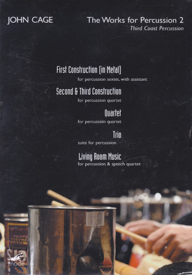 JOHN CAGE: The Works for Percussion 2 DVD
