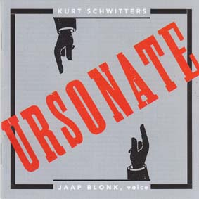 BLONK, JAAP: Ursonate