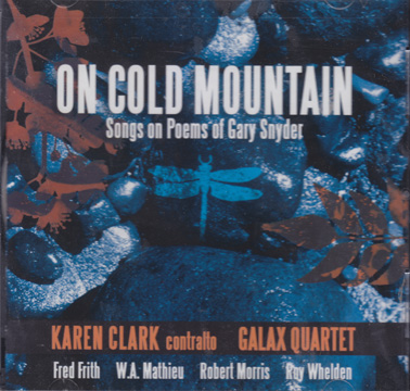 CLARKE, KAREN and GALAX QUARTET: On Cold Mountain