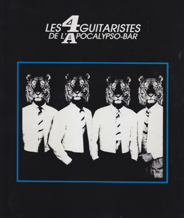 QUATRE GUITARISTES: World Tour (vinyl)
