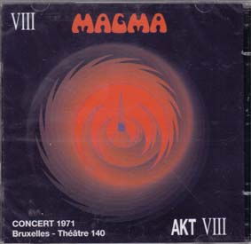 MAGMA: Concert, Bruxelles 1971 (double cd)