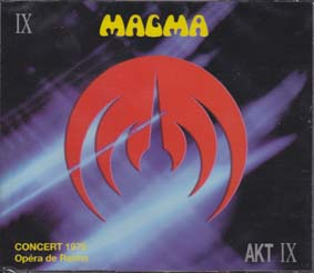 MAGMA: Concert 1976 - Opera De Reims (triple CD)