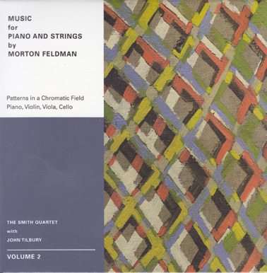 MORTON FELDMAN: Music for Piano and Strings Vol 2 (DVD)