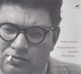 MORTON FELDMAN: String Quartet No 1 Structures Three Pieces (2 CDs and a DVD)