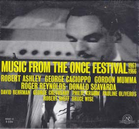 MUSIC FROM THE ONCE FESTIVAL: 1961-1966 5 CD box
