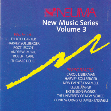 NEUMA NEW MUSIC SERIES: Volume 3