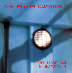 QUARTERLY, ReR: Volume 4 No 1 CD