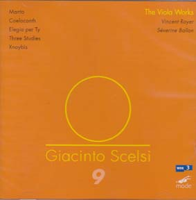 GIACINTO SCELSI: The Works for Viola