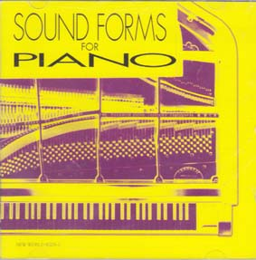 COWELL, CAGE, JOHNSON, NANCARROW: Sound forms for piano