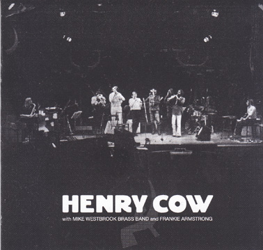 HENRY COW/ORCKESTRA: Unreleased Orckestra extract. (7cm disc)