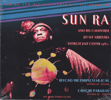 SUN RA: Beyond the Purple Star Zone and Oblique Parallax