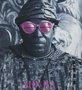 "SUN RA ansd HIS BAND FROM OUTER SPACE: Space Aura.(10"" vinyl)"