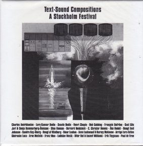 TEXT-SOUND COMPOSITIONS: A Stockholm Festival.(5 CD Box and book).
