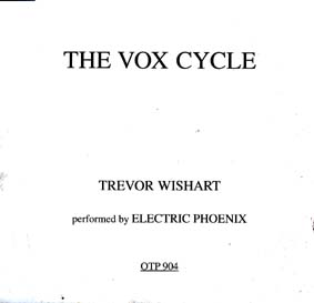 WISHART, TREVOR: The Vox Cycle