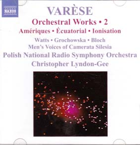VARESE, EDGARD: Orchestral works 2
